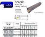SCLCL 2525M12 Toolholder